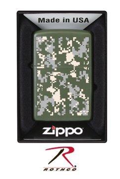 Rothco Zippo Lighter- A.C.U Digital Camo by Rothco