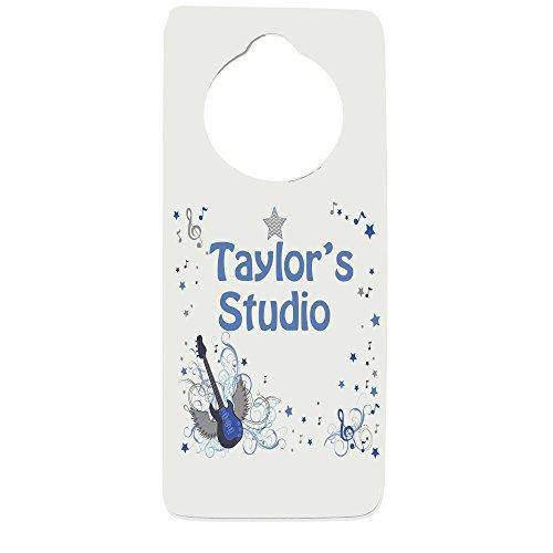 Personalized Rock Star Door Hanger
