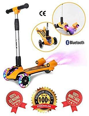 Amazon.com: Patinete de 3 ruedas ajustable para niños y ...