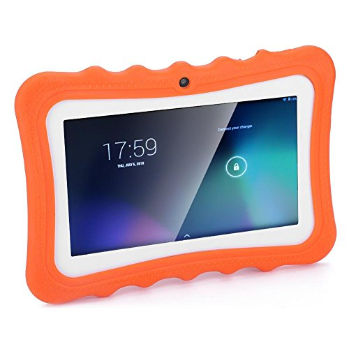 Dpofirs Kids Tablets PC,7-inch WIFI Quad-Core Children Tablet(1+8G) for Android 4.4,Safety Eye Protection Capacitance…