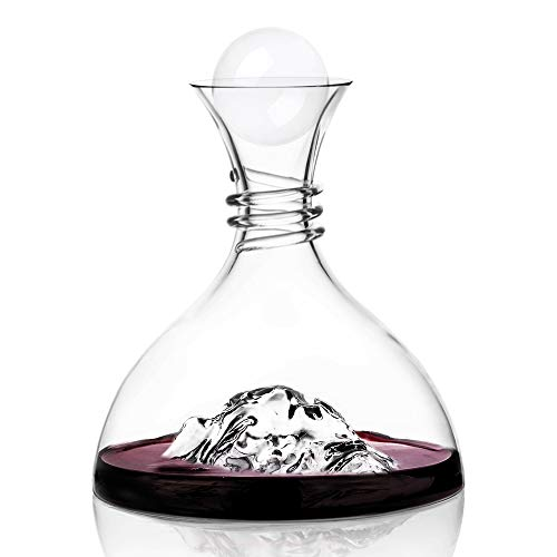 Soing Clear Crystal 2.5 Inches Wine Decanter Stopper Crystal Ball by Eisberg (Image #1)