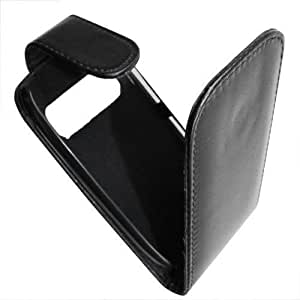 So'axess HOUNOC7 - Funda con tapa para Nokia C7, color negro
