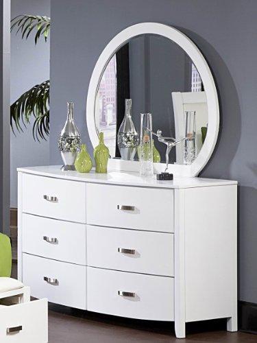 White Dresser Amp Mirror Sets