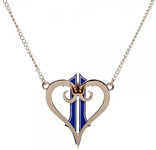 Bioworld- Necklace: Kingdom Hearts II - Logo Metal Necklace