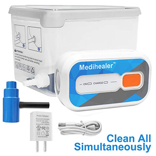 Cleaner and Sanitizer Kit for All CPAP Machines, Cleanning Standard Hose/Heated Tube, Mask & Machine Simultaneously, Sanitizing Equipment Supplies