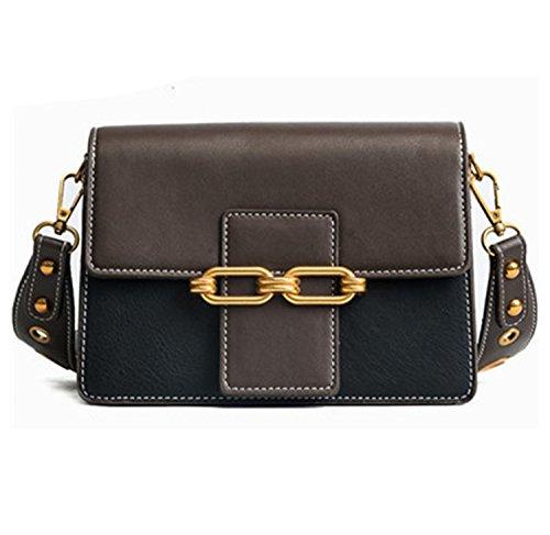 Paddy Meredith Vintage Lock Bags For Women 2018 Flap Patchwork Bags Women Shoulder Bagss Designer Sac Black