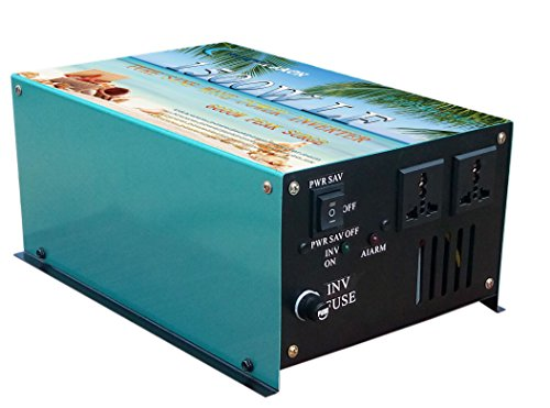 6000W peak 1500W LF Pure Sine Wave Power Inverter DC 12V to AC 110V 60Hz