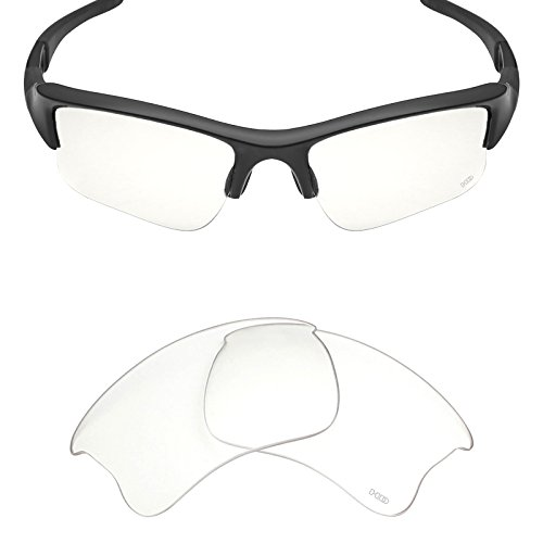 Mryok+ Polarized Replacement Lenses for Oakley Flak Jacket XLJ - HD - Jacket Oakley Flak Lenses Clear