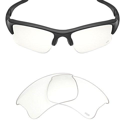 Mryok+ Polarized Replacement Lenses for Oakley Flak Jacket XLJ - HD - Clear Lenses Jacket Flak