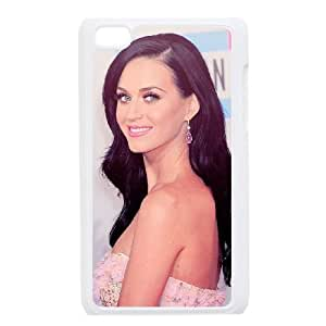 Ipod Touch 4 2D PersonKaty Perryzed Phone Back Case with Katy Perry Image