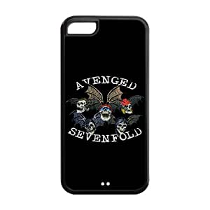Fayruz- 5C Phone Cases, Avenged Sevenfold Protective Hard TPU Rubber iPhone 5C Case Cover E-i5R530