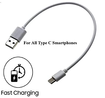 OGTECH CellwallPRO Short Length Type C to USB Charging Data Sync Power Bank Cable for All Smart Phones USB Cables