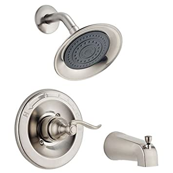 Delta Faucet Windemere Single Function Tub And Shower Trim Kit With