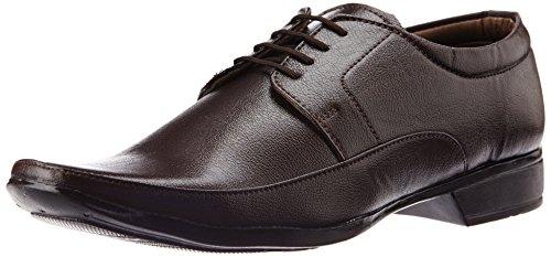 Vokstar Men's Brown Formal Shoes - 8 UK (V3014)