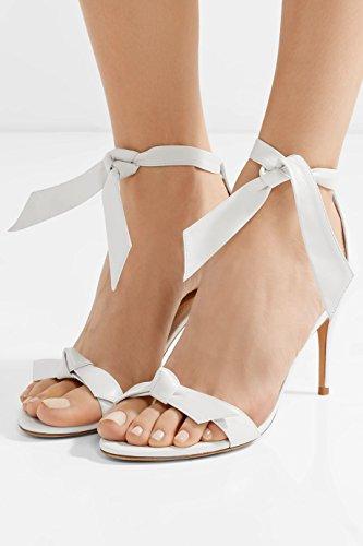 12 alla taglia Donna Sandali a Tacco spillo 5 Tacco Scarpe caviglia rCtrqXw
