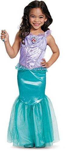 Disguise Disney Princess Little Mermaid Ariel Dress Deluxe