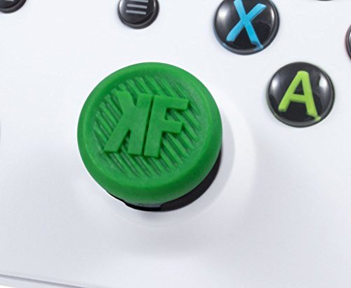 KontrolFreek GamerPack Alpha for Xbox One Controller | Performance Thumbsticks | 2 Low-Rise Concave, 2 Low-Rise | Green 4