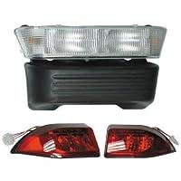 Club Car Precedent Golf Cart Light Kit Head Light LED for 08' + Carts