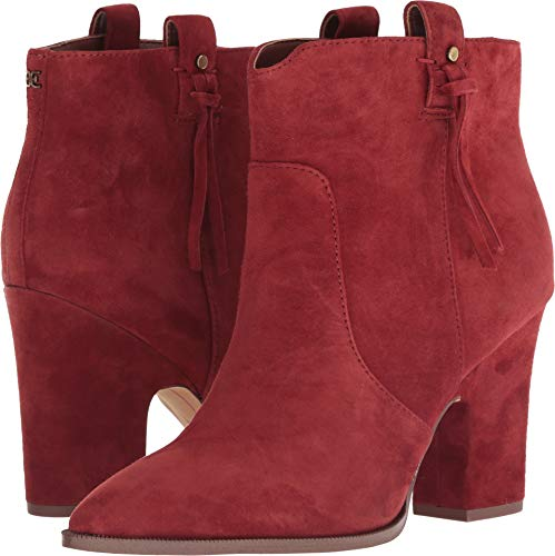 Sam Edelman Niomi Paprika Kid Suede Leather 8.5