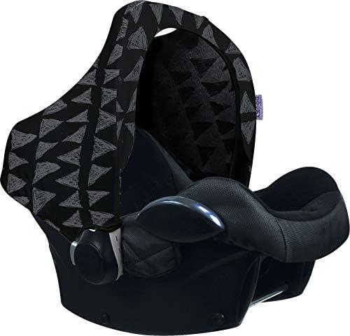 R/ömer y otros portabeb/és grupo 0 como protecci/ón solar//capota//protecci/ón contra la lluvia negro Black Tribal Capota universal para Maxi Cosi Cabrio//CabrioFix//Pebble//Citi DOOKY HOODY Style UV+
