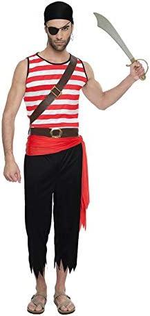 Car&Gus Disfraz de Pirata Forzudo para Hombre: Amazon.es: Juguetes ...