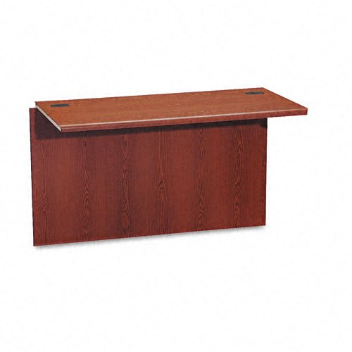 HON 10770JJ 10700 Waterfall Edge Series 47 by 24 by 29-1/2-Inch Bridge for U Workstation, Cherry ()