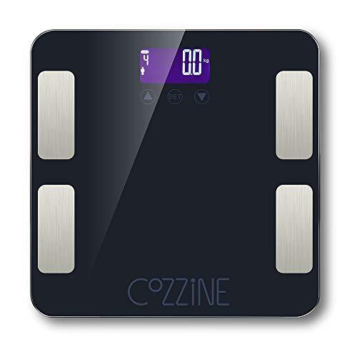 Cozzine Bluetooth FG830LB Body Fat Scale, Smart...