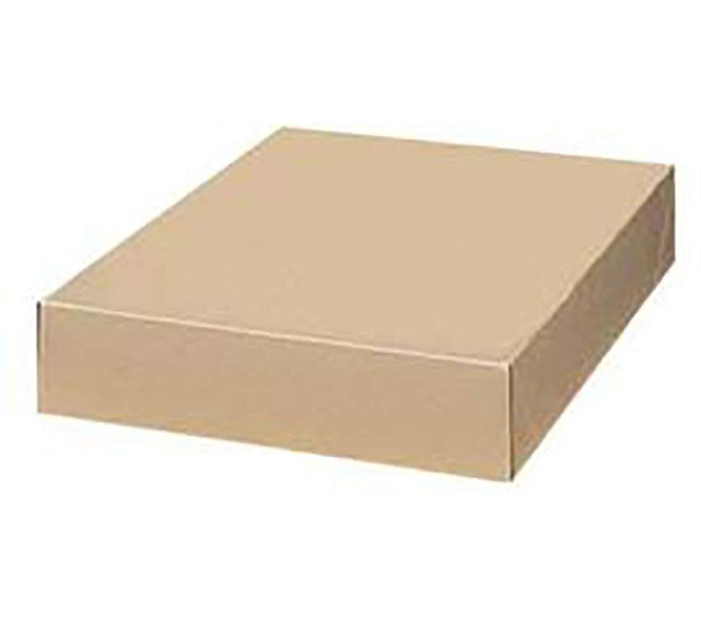 Kraft Shirt Apparel Box - 17'' x 11'' x 2½'' - Case of 50