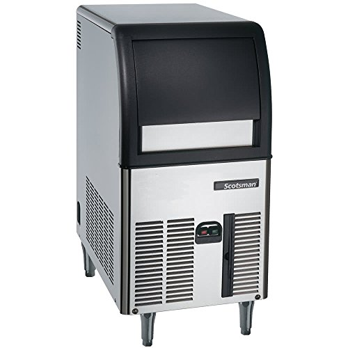 Scotsman CU0515GA Self Contained Gourmet Ice Maker, Air Condenser, 84 lb. Production, 24 lb. Storage by Scotsman