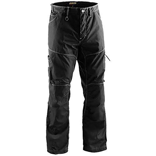 Blaklader 195918459900D88 X1900 Craftsman Trousers, Size 32/30, Black