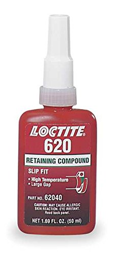 Amazon Com Loctite 620 442 62040 50ml Retaining Compound High Temperature Green Color Industrial Scientific
