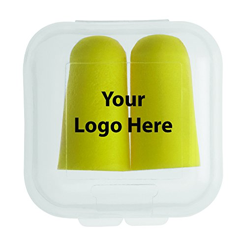 Earplugs In Square Case - 250 Quantity - $1.20 Each - PROMOTIONAL PRODUCT / BULK / BRANDED with YOUR LOGO / CUSTOMIZED by Sunrise Identity (Image #3)