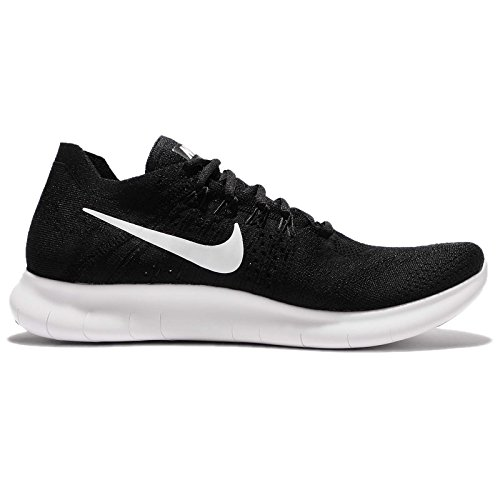 Black Black 2017 Flyknit Uomo White Nero Trail Scarpe da Nike Free Running RN 001 qt8wEpv7