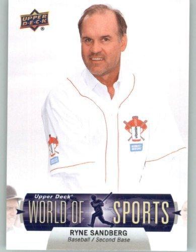 (2011 Upper Deck World of Sports Baseball Trading Card #303 Ryne Sandberg SP - Hall of Fame / Legends (Short Print) ())