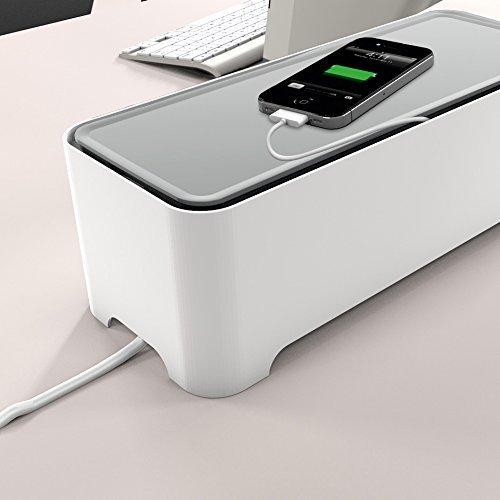 Go Oblong Aux Cable Organizer Slim Design For Desktop Or