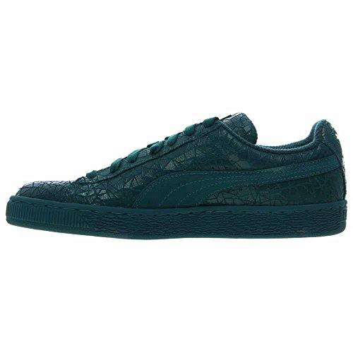 shopping online original Puma Suede Crackle Men US 8 Green Sneakers clearance with mastercard Ndgzf23uBT