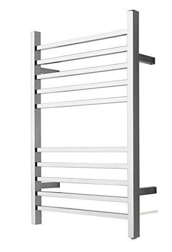 Amba RSWP-B Plug-In Radiant Square Towel Warmer, Brushed (Jeeves Jeeves Towel Warmer)