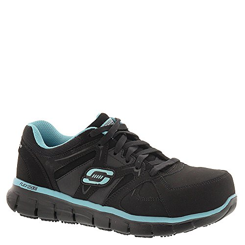 Skechers Work Women's Synergy - Sandlot Black/Blue 10 D -