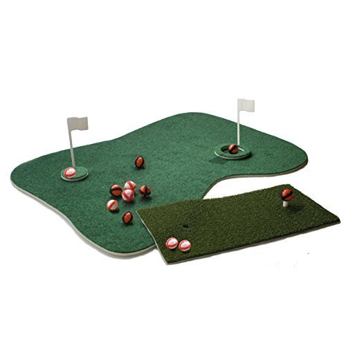 Putt-A-Bout Aqua Golf Floating Putting Mat Green by Putt-A-Bout (Image #3)