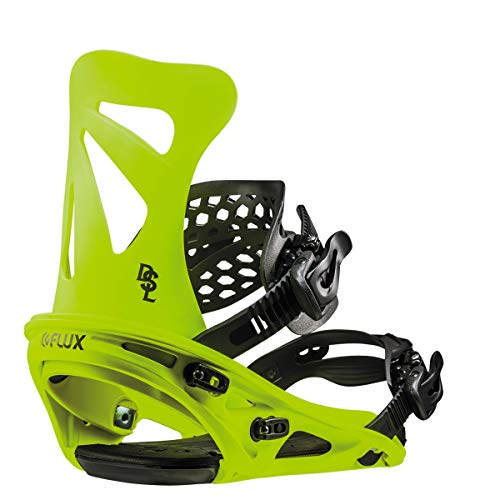 Flux Dsl 2018/19 Snowboard Bindings Size Neon Yellow, Medium