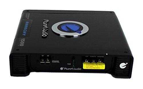 """41O74IumK2L - MTX TNE212D 12"""" 1200W Dual Loaded Car Subwoofers + Box + Planet 1500W Amp + Kit"""