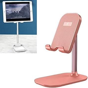 Selfie Phone Tripod Black Color : Pink Goodao WS4 Portable Telescopic Mobile Phone Tablet Wireless Quick Charging Desktop Holder Bracket