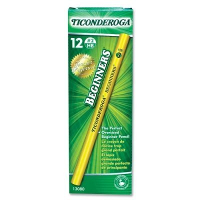 Dixon? Ticonderoga? Beginners? Woodcase Pencil with Microban? by Dixon by DIXON TICONDEROGA CO.