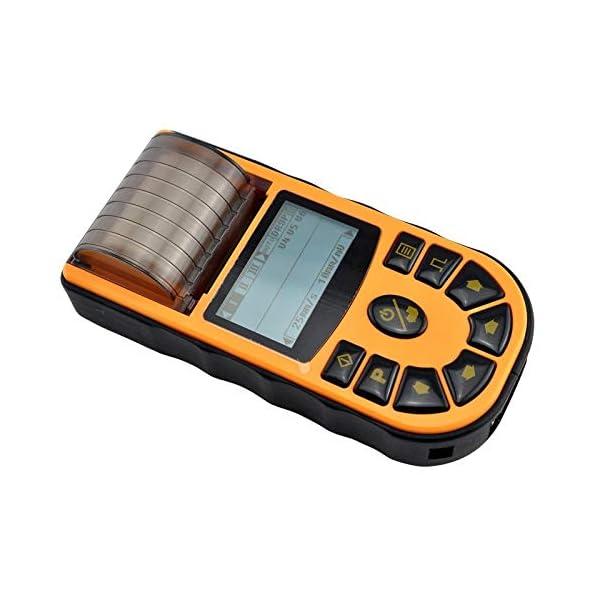 Electrocardiógrafo portátil de 1 canal, Pantalla e impresora térmica, ECG, MB80A, Mobiclinic 6