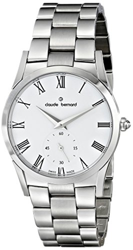 Claude Bernard Women's 23092 3 BR Classic Ladies Analog Display Swiss Quartz Silver Watch