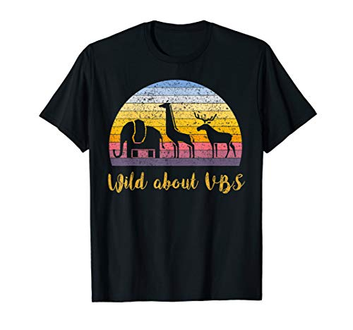 Wild About VBS Animal T-Shirt World Explorer TShirt T-Shirt -