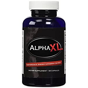 Alpha XL - The #1 Most Potent & Powerful Male Supplement Pills Ideal For Men with Low T Testosterone Levels! All Natural & Clinically Proven Ingredients Performance Booster 1 Bottle Supply natural male enchantment - 41O76PFN1mL - natural male enchantment