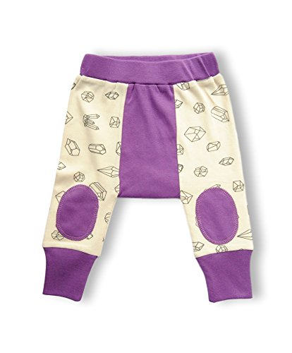 Cat & Dogma - Certified Elementary Baby Clothing - Harem Pants - Geometric Crystals (6-12 Months)