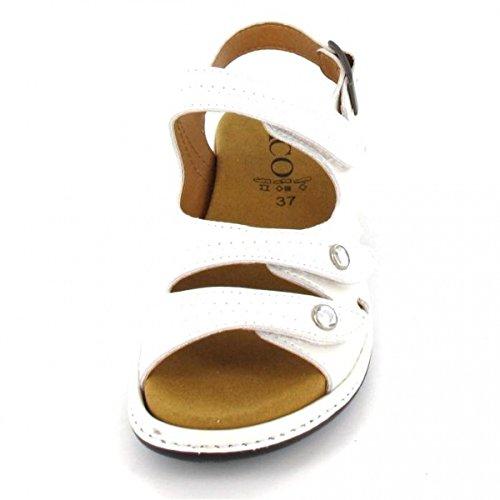 ACO Sling Sandalette Moni 93, Farbe: Weiss