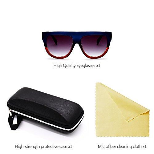 Style Lunettes Branché de de air Sports de Hommes Plein Siamoises des UV400 Protection pour de Verres de des Femmes 02 Soleil ZEVONDA la 1pd5w6zqq
